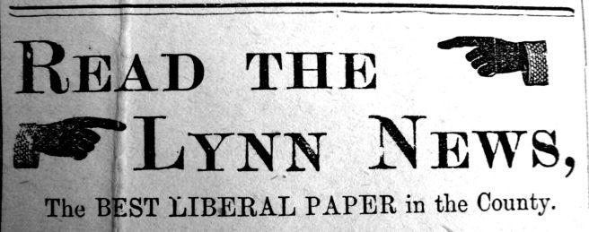 1890 June 7th Lynn News Co