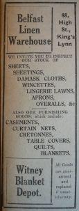 1927 Nov 11th Belfast Linen Warehouse