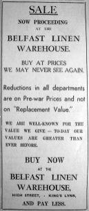 1940 Jan 5th Belfast Linen