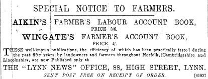 Lynn News 88 Sept 6th 1890