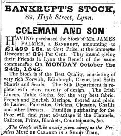1842 Oct 25th James Palmer