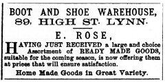 1871 April 29th E Rose