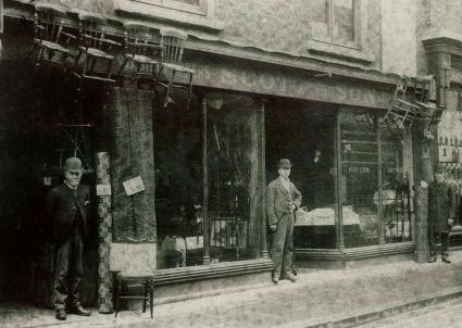 1892 approx No 89 High Street Scott & Son