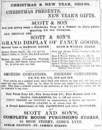1893 Jan 14th Scott & Son