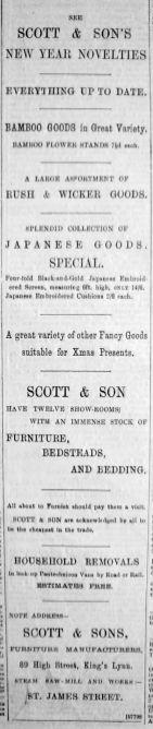1895 Jan 12th Scott & Son