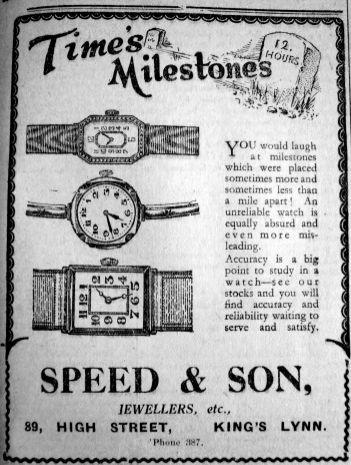 1929 Nov 8th Speed & Son