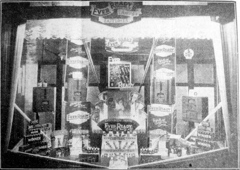 1935 Nov 22nd Easters prize window