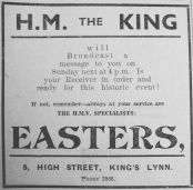 1936 Feb 28th Easters HM King broadcast