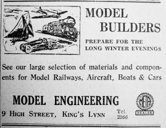 1949 Oct 21st Model Engineering