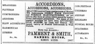1893 August 19th Pamment & Smith @ No 90
