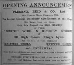 1911 Feb 17th Scotch Wool Shop Opens cont