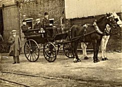 1910 Wm Crawshay Scott with Messrs Whincot Dodson & Hart and Charlie & Tommy at South Quay works