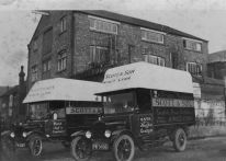 1928 new vans at Scott & Sons South Quay works