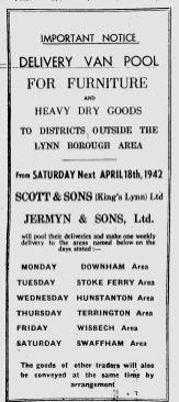 1942 April 14th Delivery Van Pool