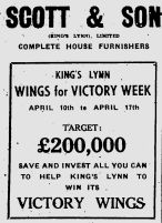 1943 April 6th Wings For Victory