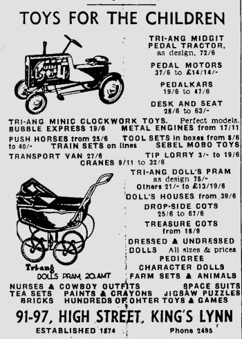 1954 Dec 3rd Christmas toys