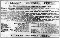 1894 March 17th Pullars of Perth agents Misses Weston @ No 95