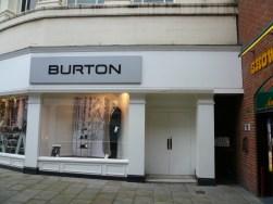 2007 Burtons shopfront