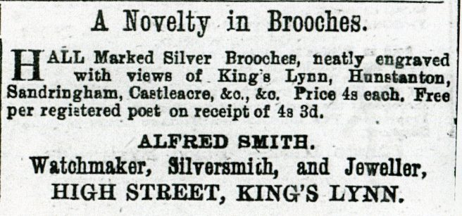 1882 8th July Alfred Smith @ No