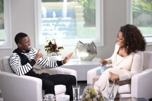 Oprah Prime: Kevin Hart airs this Sunday, March 23 at 9 p.m. ET/PT on OWN