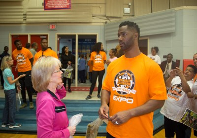 Michael Johnson's 'See It First' 1st Annual Health & Fitness Expo (Video)