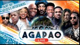 Snoop Dogg, Bill Ray Cyrus, 2Chainz headlne all star AGAPAO LIVE Streaming Concert with first-ever Global KickBack Vibe Party on July 11