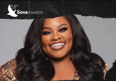 Tasha Cobbs Leonard Nominated for Artist of the Year at Dove Awards