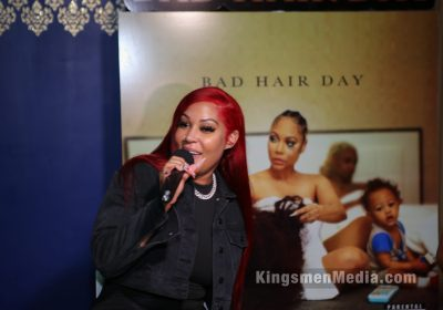 BAD HAIR DAY Private Listening Session w/ Lyrica