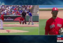 Mookie Betts Gets A Big Surprise During An Onfield Interview
