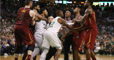 Video: Marcus Smart Ejected after Scuffle