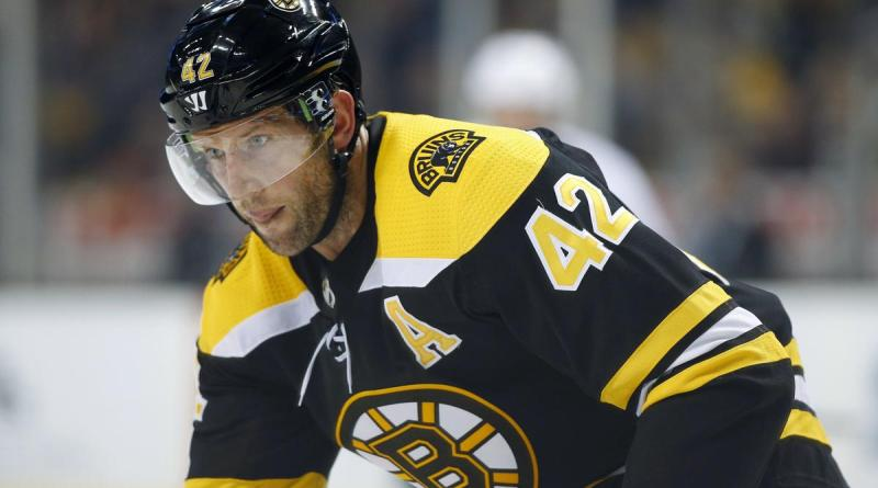 Video: Ouch, David Backes Cut in Face by Skate
