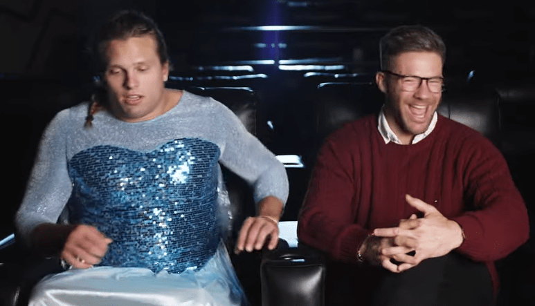 Julian Edelman Makes Chase Winovich Dress Up Like A Princess And Sing During His Frozen 2 Review