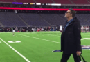 Tom Brady Arrives For Tonight's Game In Houston
