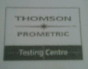 Prometric Oops