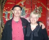 Fred and Christy in Chinatown