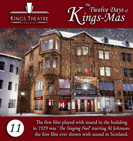 Kings Theatre Kirkcaldy christmas facts