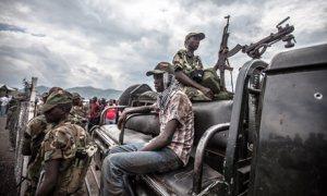 MDG: Goma, in Congo DRC