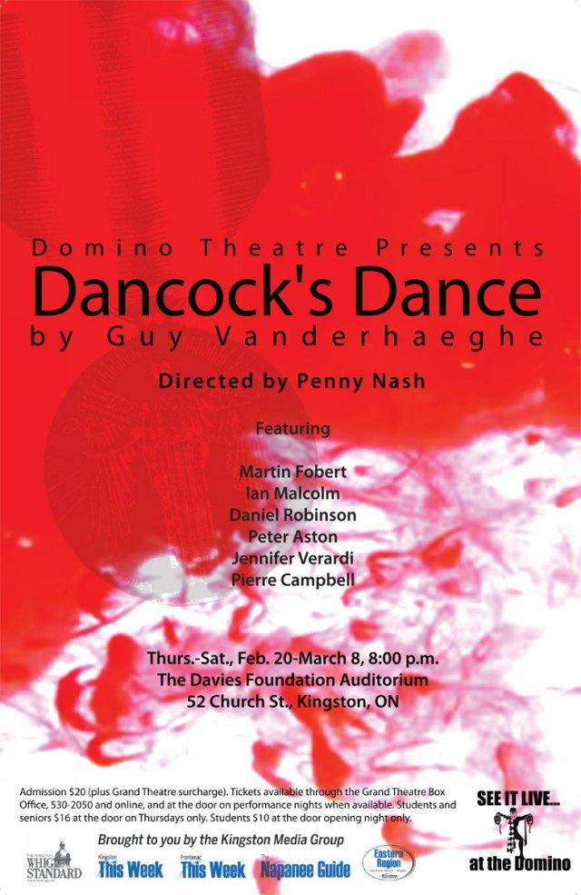Dancock's Dance poster