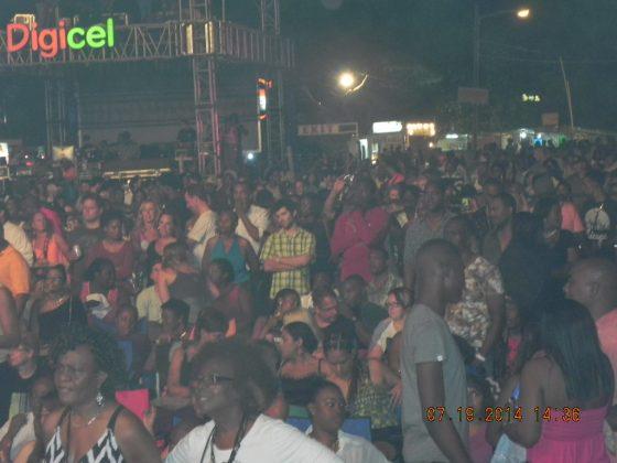 Audience at Reggae Sumfest