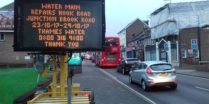 Roadworks to close Hook Road again