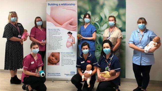 Kingston Hospital receives UNICEF Baby Friendly Award