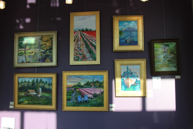 New Show at Edmonds Vision for the Month.