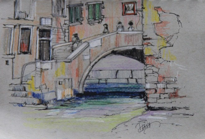 Sketches from Venice