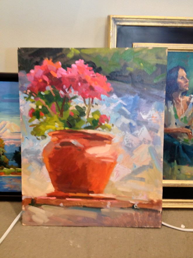 Painting Demo by Darrell Anderson