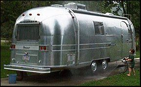 Airstream big wash job