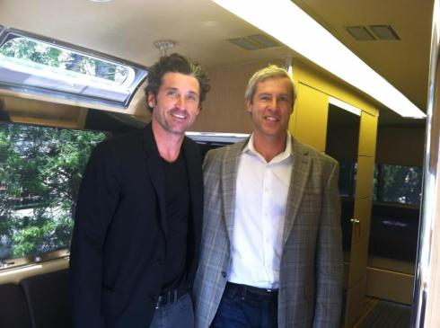 Airstream Patrick Dempsey & CEO Bob Wheeler