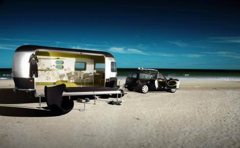 Airstream to surf
