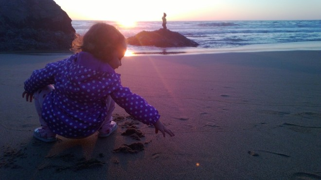Polka dot goes to the beach