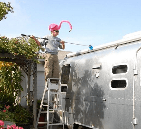 Washing your Airstream