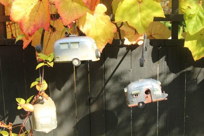 Airstreams in my yard.